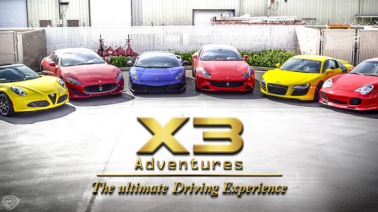 X3 Adventures Exotic Car Tour Package