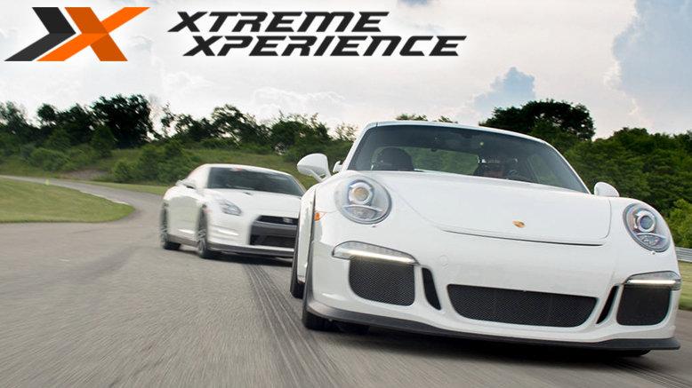 3-Lap Ride Along in a Lamborghini Gallardo LP560, Porsche GT3, Audi R8 or Nissan GTR