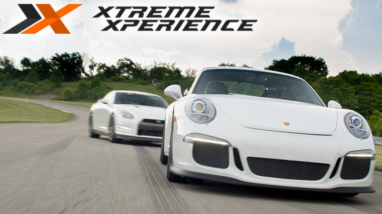 Ride 3-Laps with a Pro Driver in a Porsche GT3 on a Racetrack, plus $20 Track Cash & 1 Photo