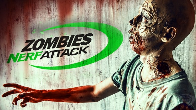 1 Entry to the Zombie Nerf Attack Event