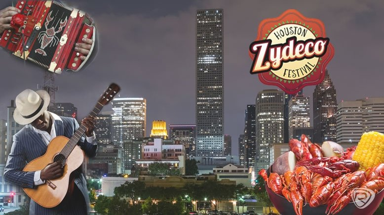 2 General Admissions to the Houston Zydeco Fesitval